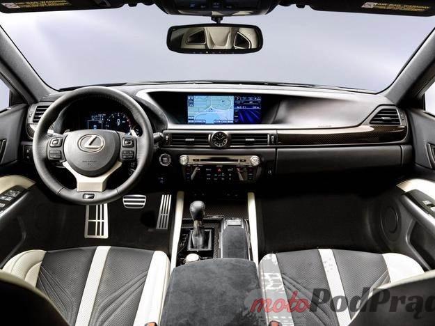 0003RU6NISGV4UX5 C116 F4 Lexus GS F z morderczym V8