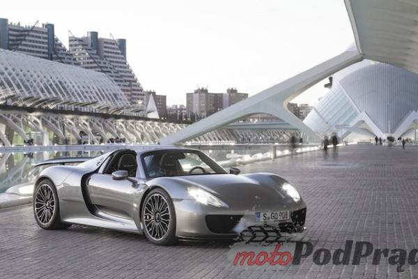 1143 I jak tu spakować się do Porsche 918 Spyder?