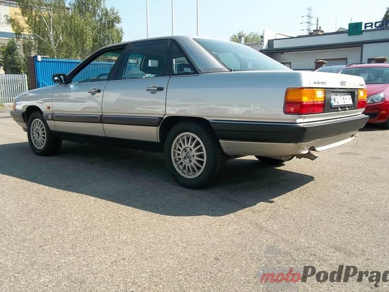 1167 [Znalezione] Audi 100 C3 Turbo