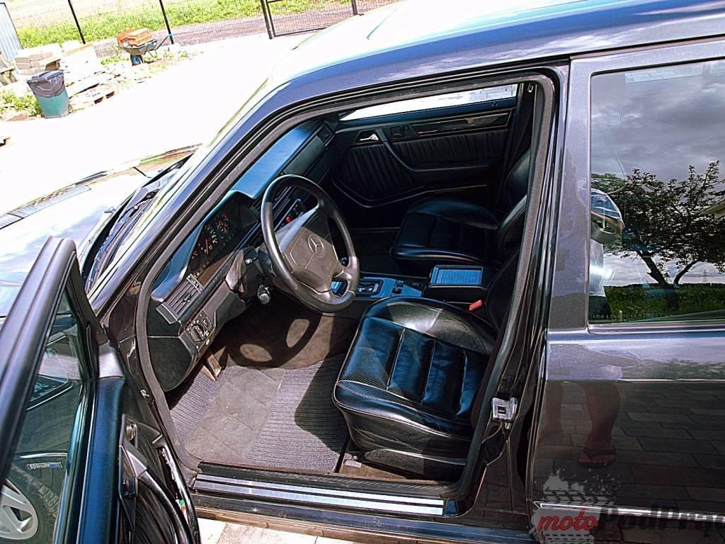 1186 Znalezione: Mercedes W124 E500   Czarna Wdowa!
