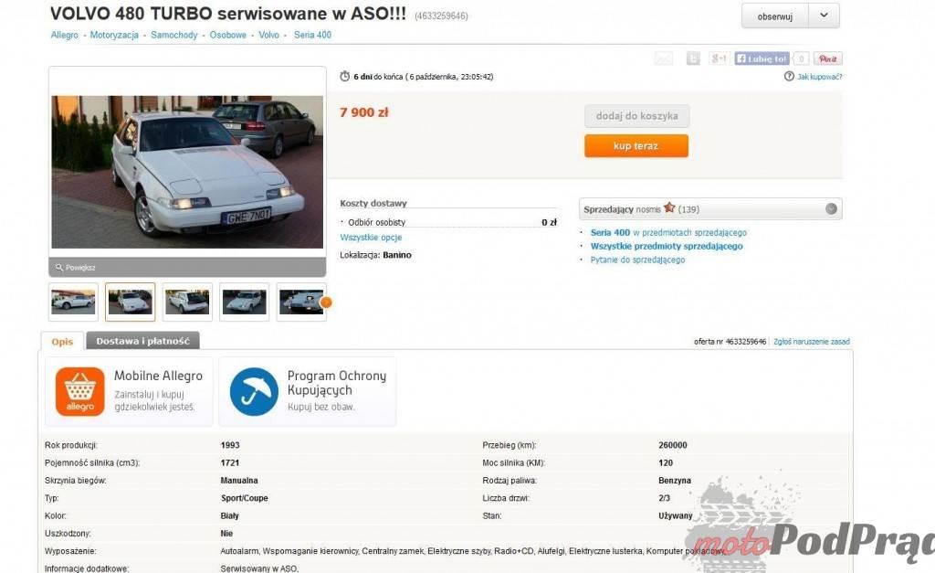 1192 1024x627 Znalezione: Volvo 480   prawdziwy shooting brake!