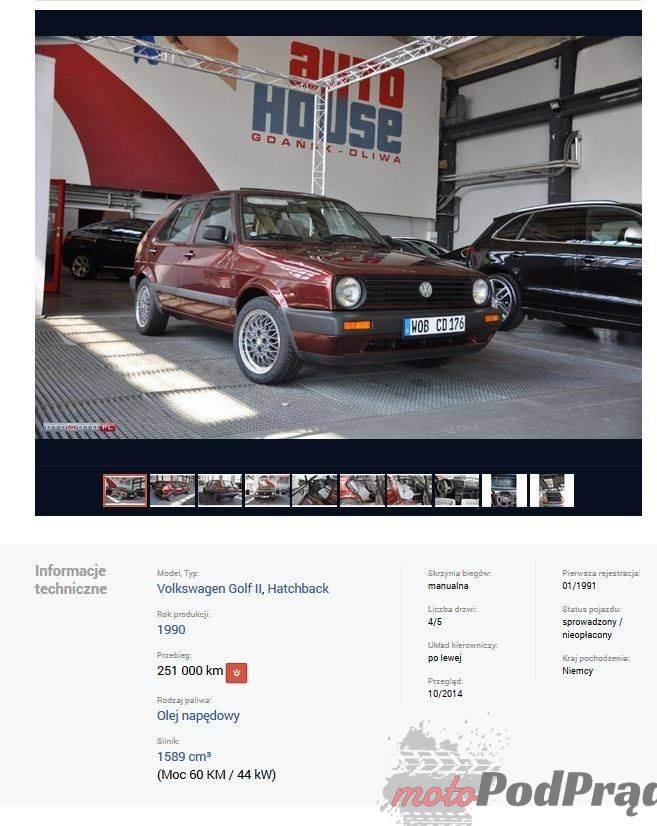 1201 [Znalezione] VW Golf II   panzerwagen