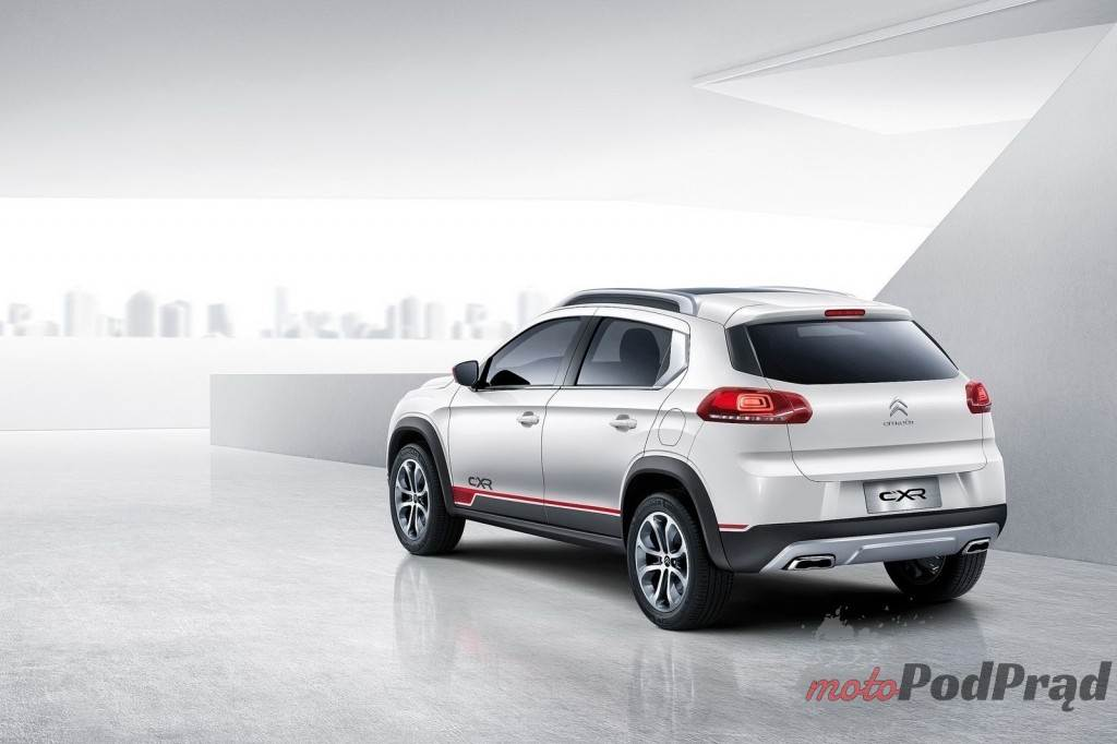 1752595394 2 L Citroen C XR   nowy crossover w Chinach