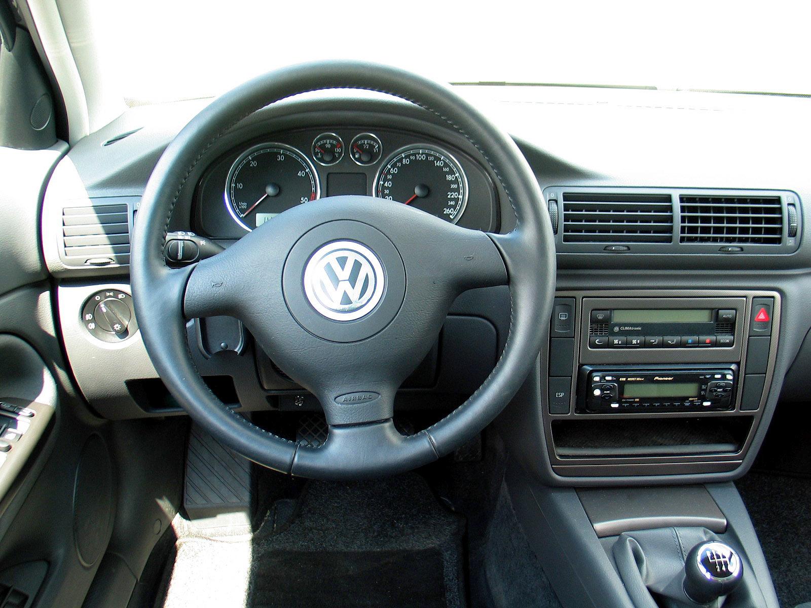 Moto pod pr d vw passat b5 1 8 turbo for Volkswagen passat 2000 interior