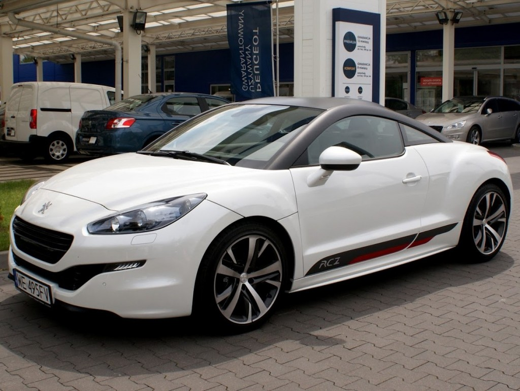test peugeot rcz moto pod pr d. Black Bedroom Furniture Sets. Home Design Ideas