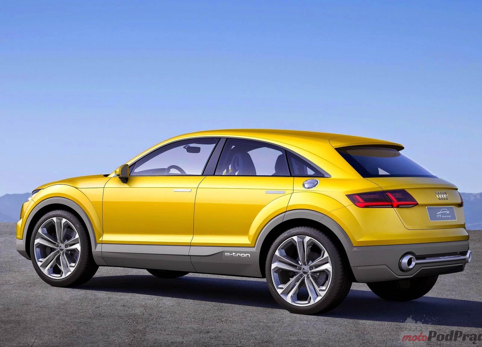 2014 Audi TT Offroad Concept 2 Audi TT Offroad Concept   w ślad za innymi