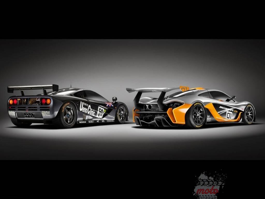2014 McLaren P1 GTR Concept 2 1024x768 McLaren P1 GTR   hołd dla przodka