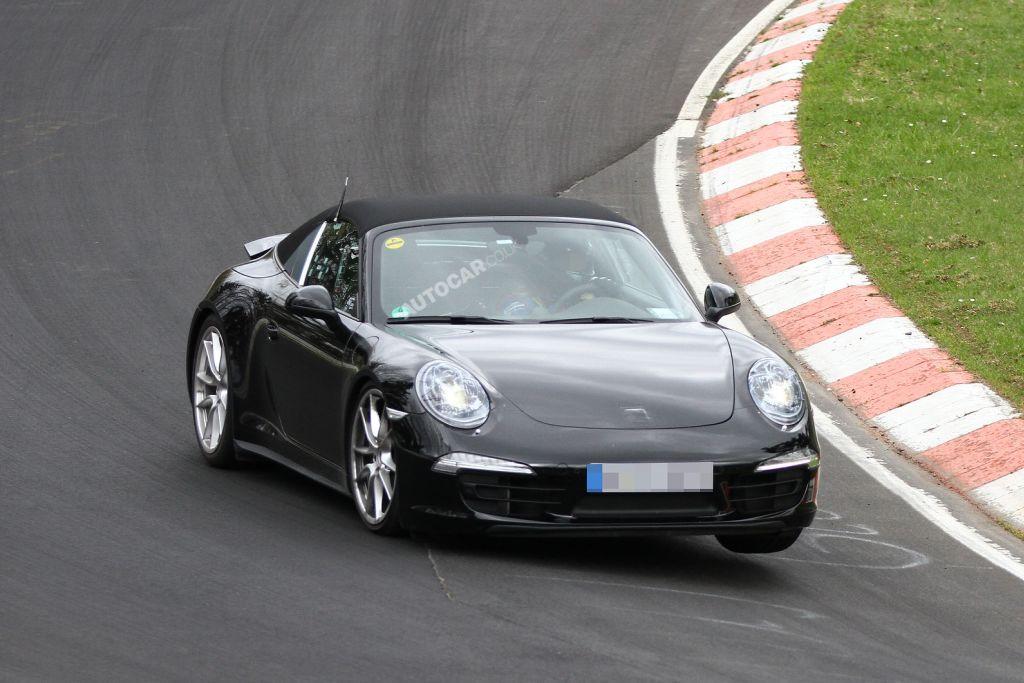 911 targo spy 1 Porsche 991 Targa – w nawiązaniu do klasyka