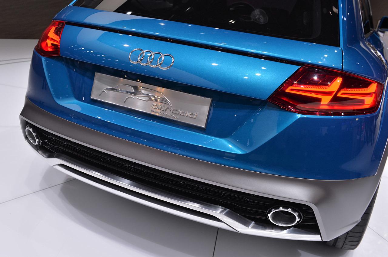 audi allroad shooting brake 1 Debiut Audi Allroad Shooting Brake