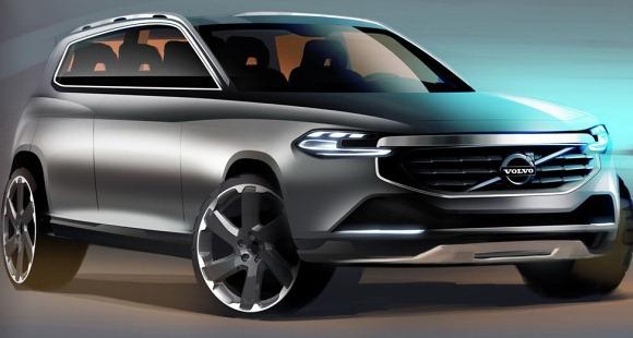 2014 volvo xc90 koncept glo Nowe Volvo XC90 przyłapane!