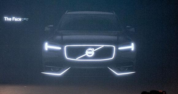 volvo xc90 2014 teaser glo Nowe Volvo XC90 przyłapane!