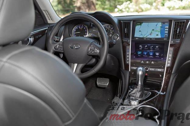 2015 Infiniti Q50 Interior Infiniti Q50 z nowymi silnikami w 2016 roku