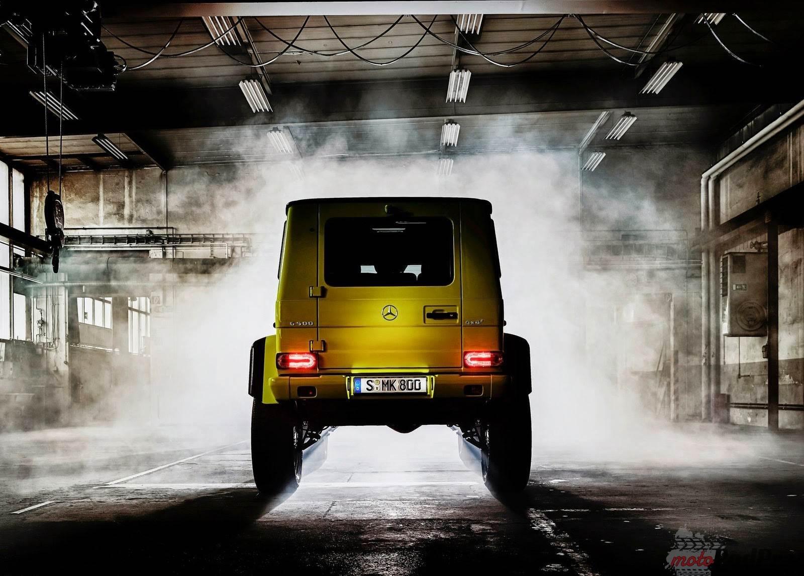 2015 Mercedes Benz G500 4x4 2 Concept 2 Mercedes Benz G5004x4 2 Concept ulepszoną Gelendą?