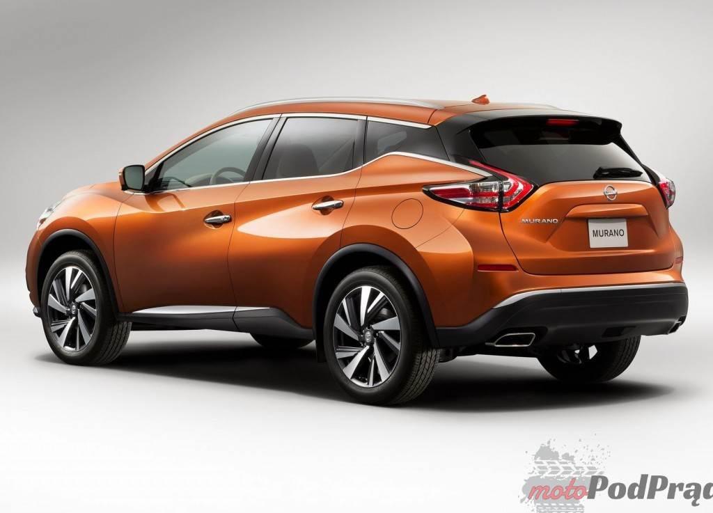 2015 Nissan Murano 2 1024x737 Nowy Nissan Murano