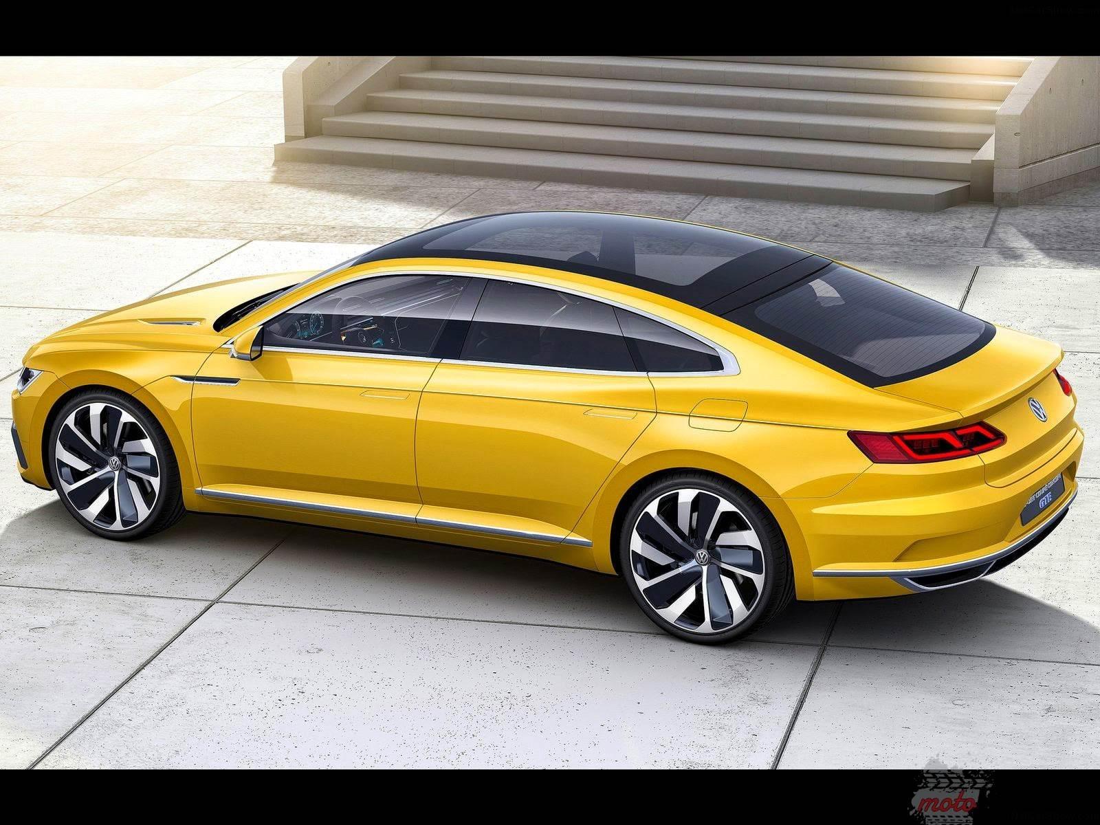 2015 Volkswagen Sport Coupe GTE Concept 2 [Genewa 2015] Volkswagen Sport Coupe GTE Concept   Passat CC?