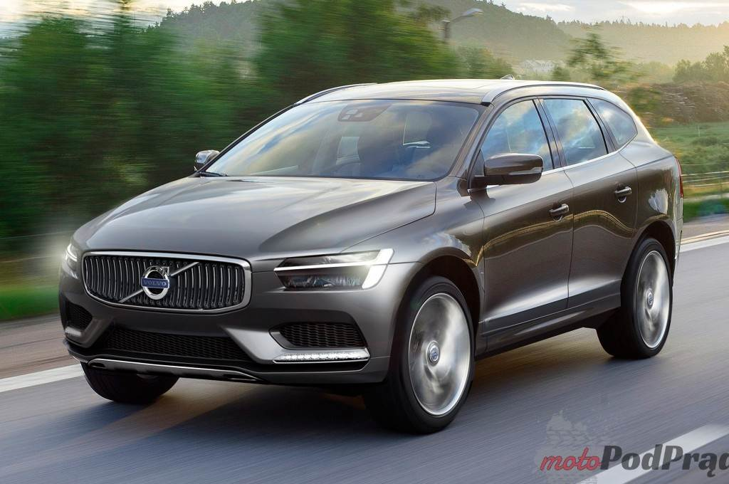 2015 volvo xc90 front three quarters view rendering 1024x680 Nowy design Volvo XC90