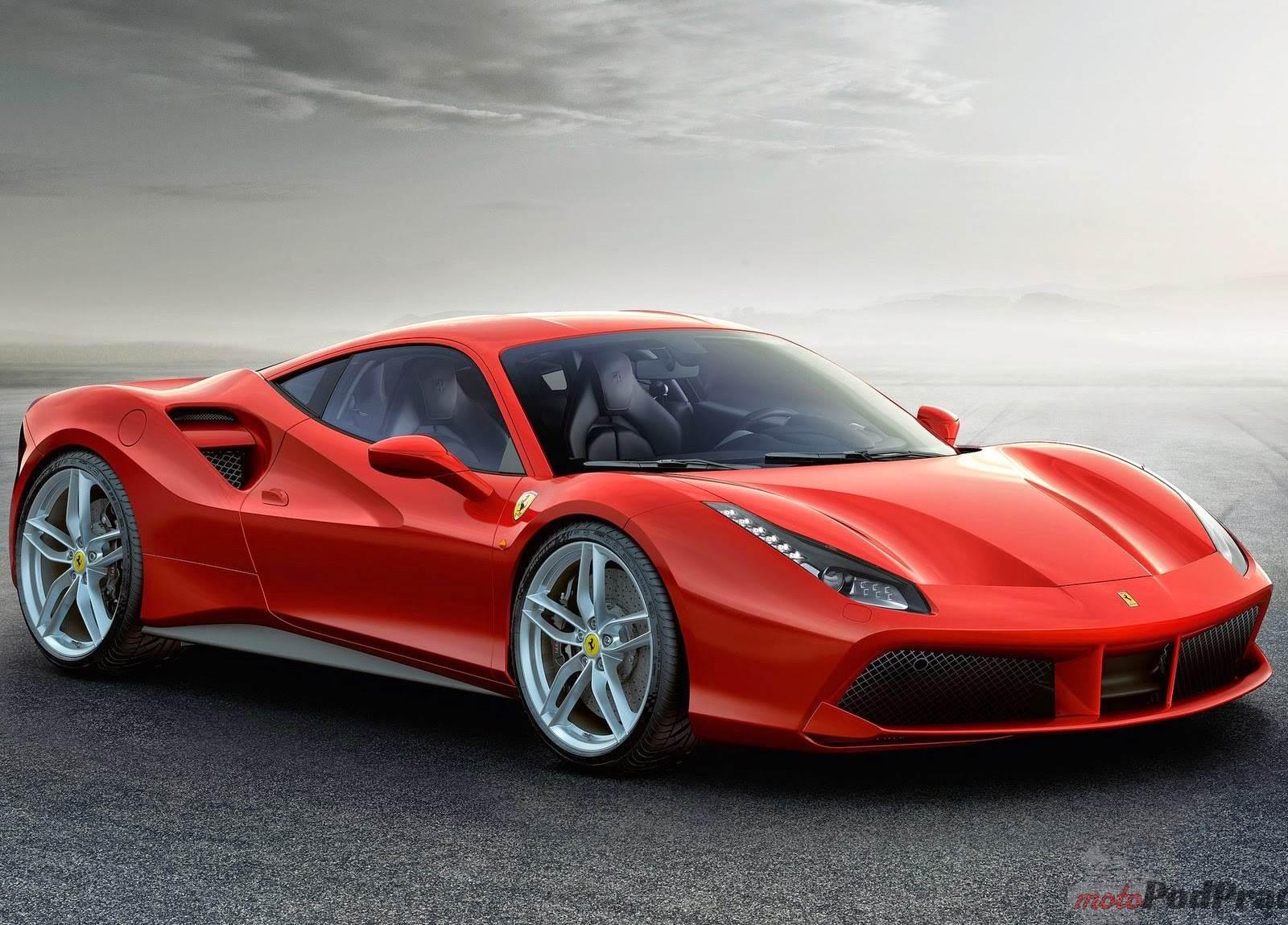 2016 Ferrari 488 GTB Następca 458   Ferrari 488 GTB