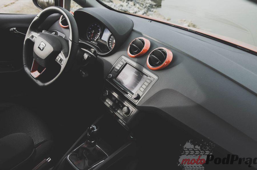 DSC 0072 Test: Seat Ibiza FR 1.2 90 KM   ze sportem jej do twarzy