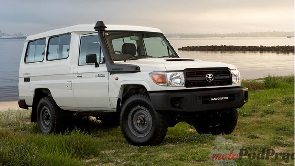 J704 Niedostępne w Polsce: Toyota Land Cruiser J70   pracowity dinozaur