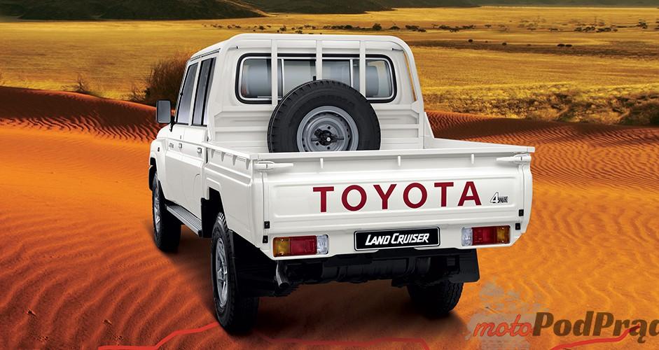 J707 Niedostępne w Polsce: Toyota Land Cruiser J70   pracowity dinozaur