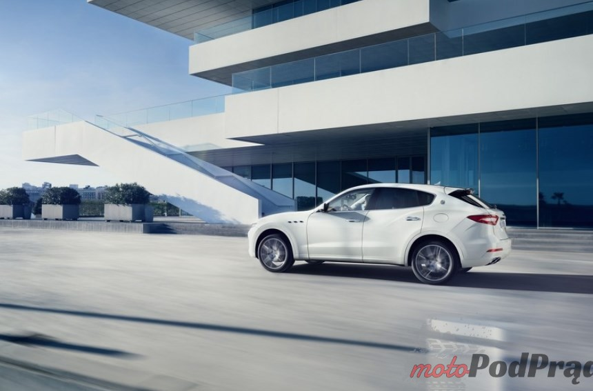 Maserati Levante Maserati pokazało światu SUVa   Levante