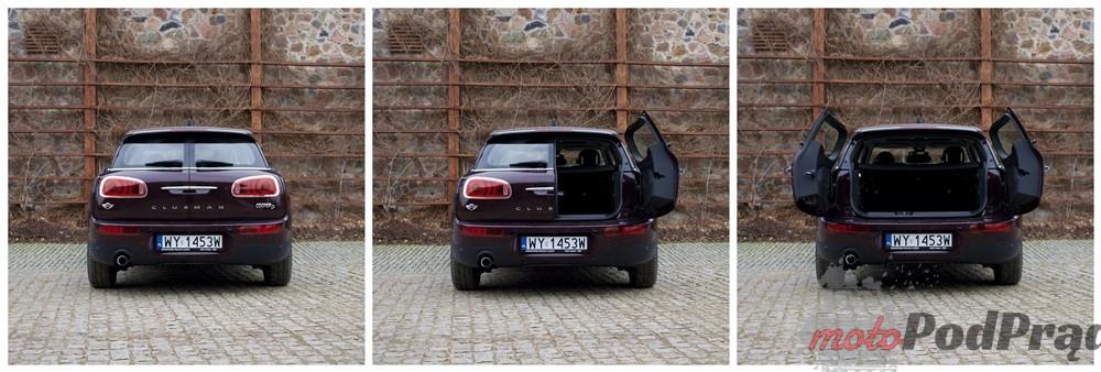 Mini 12 Test: Mini Clubman Cooper D   badanie zawartości Mini w Mini