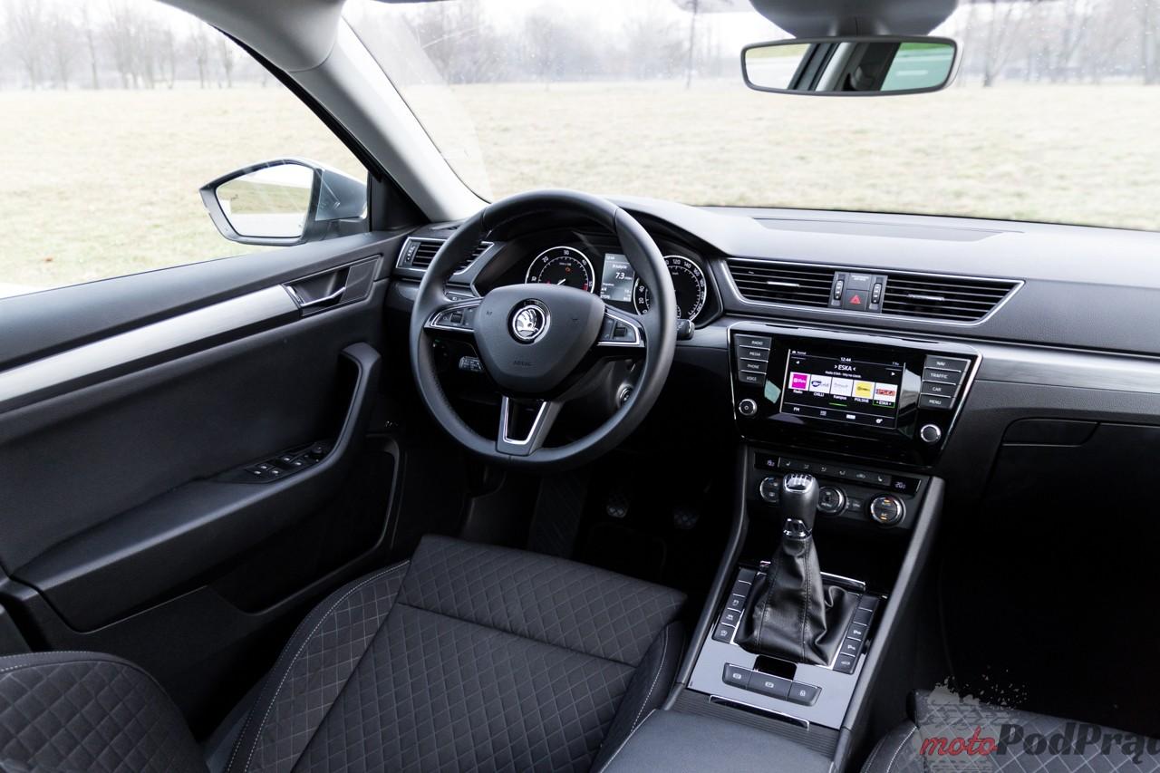 Skoda Superb Combi 2 Test: Skoda Superb Combi 2.0 TDI 190 KM   jak w salonie