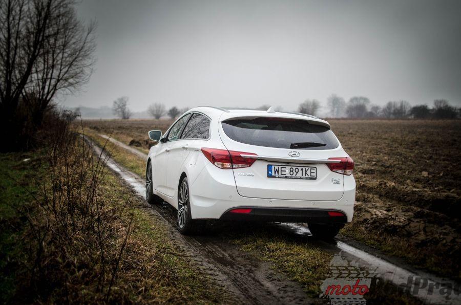 hyundaii40 13 Test: Hyundai i40 1.7 CRDI Prestige   wykonanie premium, osiągi...