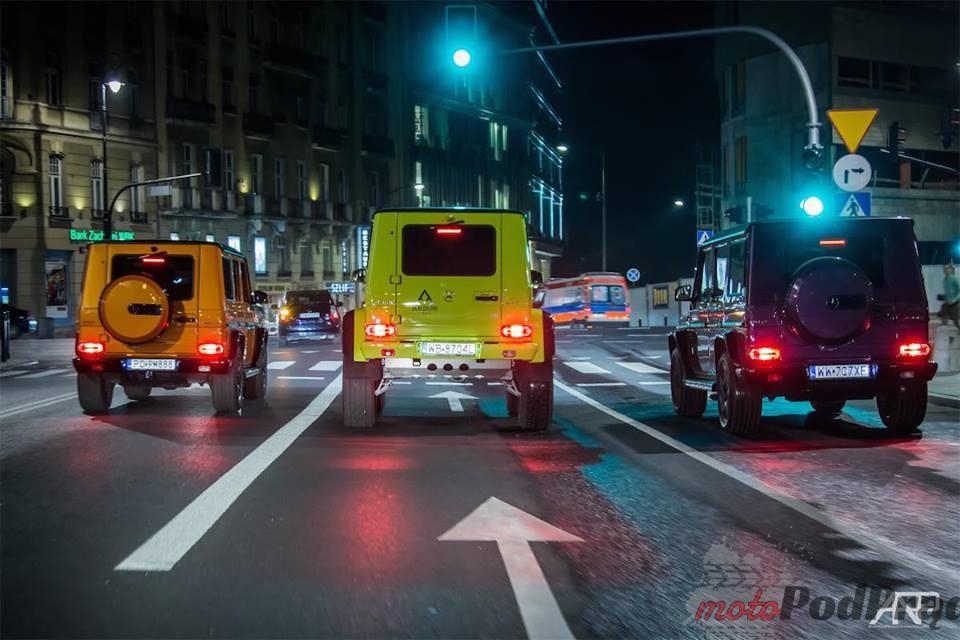 1 1 Mercedes Benz klasy G z trzema magicznymi literkami