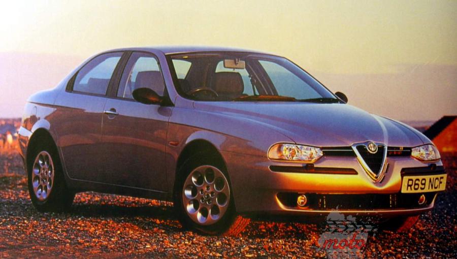 1997 alfa romeo 156 5 najfajniejszych modeli Alfy Romeo z lat 90.
