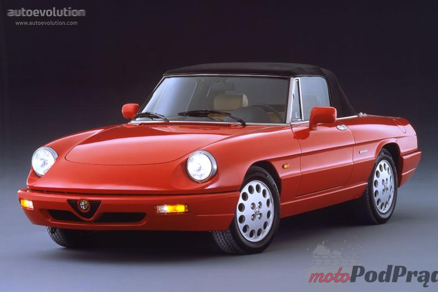 Alfa Spider 5 najfajniejszych modeli Alfy Romeo z lat 90.