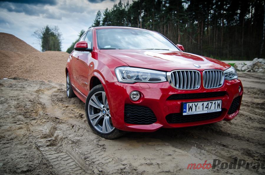 BMW X4 35d 18 Test: BMW X4 35d xDrive   ciężki do zaszufladkowania