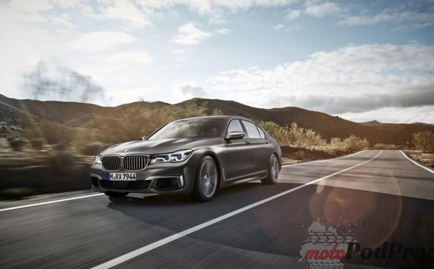 BMW m760i Premiery Motor Show Poznań 2016