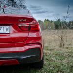 BMW x4 35d tyl 150x150 Test: BMW X4 35d xDrive   ciężki do zaszufladkowania