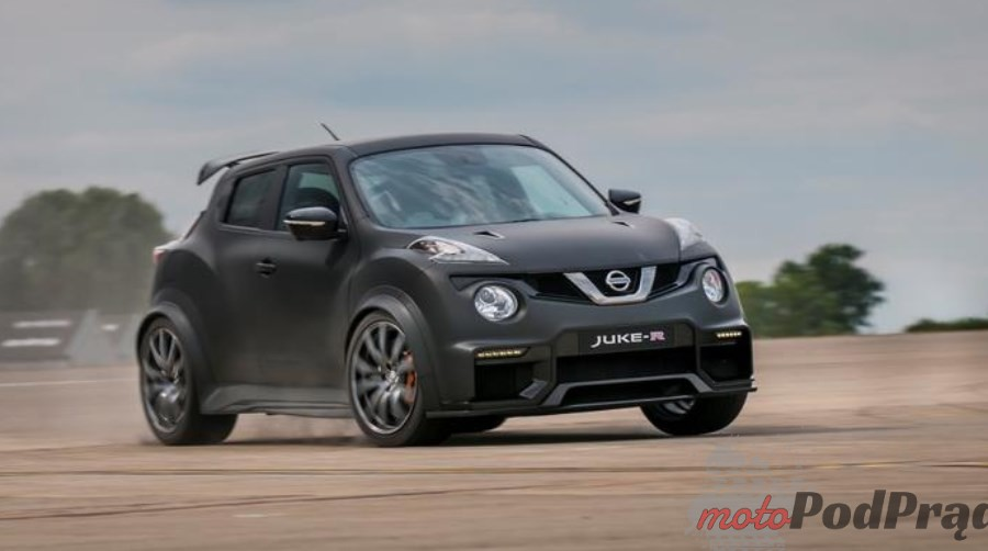 Nissan Juke R Premiery Motor Show Poznań 2016