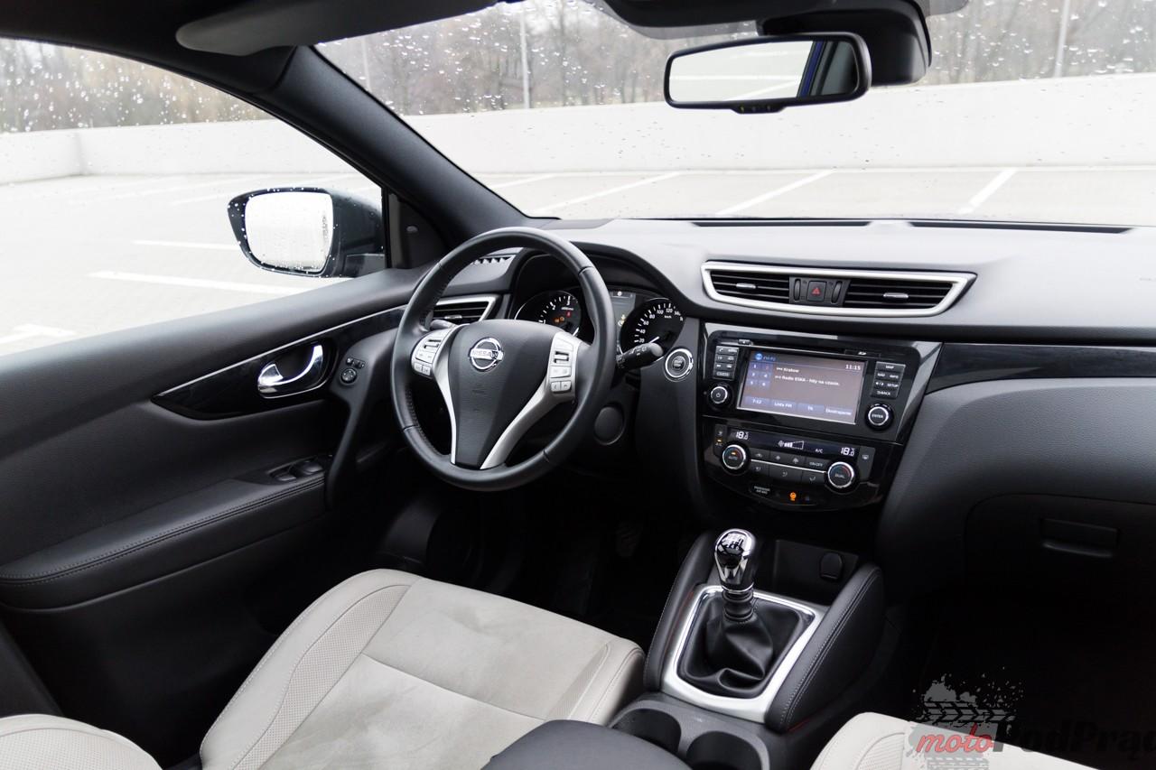 Nissan Qashqai 4x4 17 Test: Nissan Qashqai 1.6 dCi 4x4   dobry, bo modny?