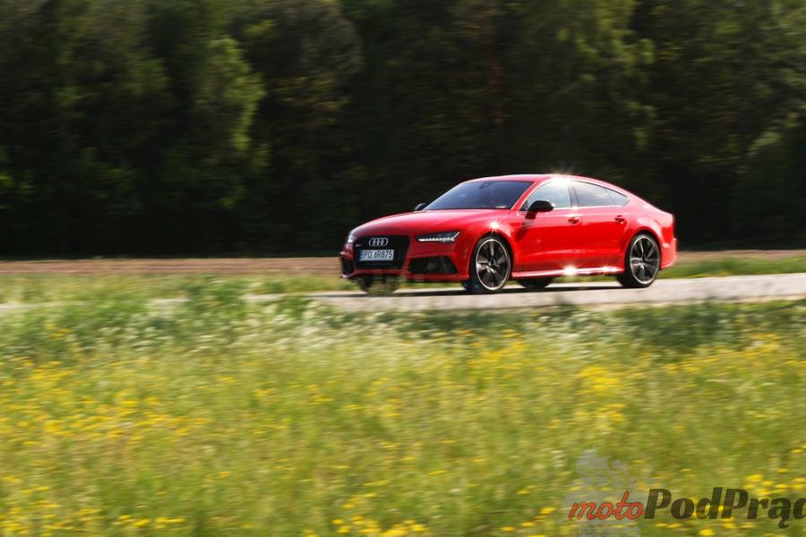 13a Test: Audi RS7 Performance   osiem i pół godziny, pięćset dziesięć minut