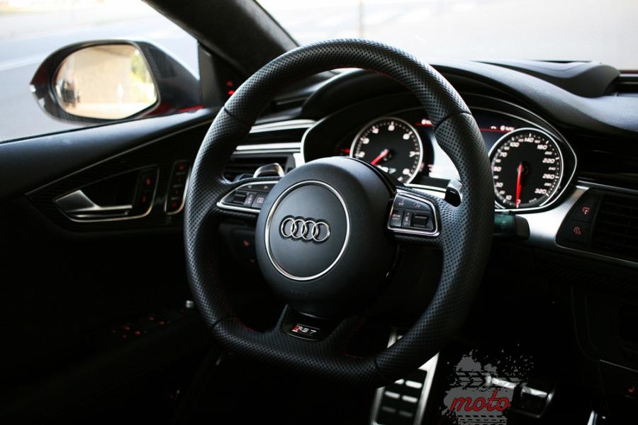 41a Test: Audi RS7 Performance   osiem i pół godziny, pięćset dziesięć minut