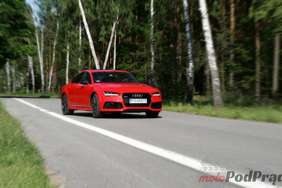 56a Test: Audi RS7 Performance   osiem i pół godziny, pięćset dziesięć minut