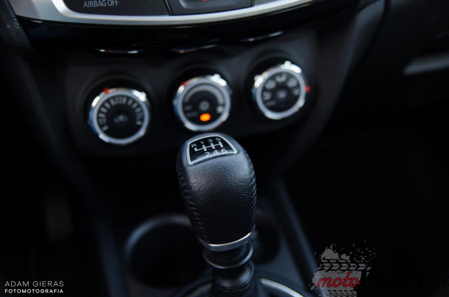 ASX 10 Test: Mitsubishi ASX 1.6 DiD 4WD   nie rzuca się w oczy