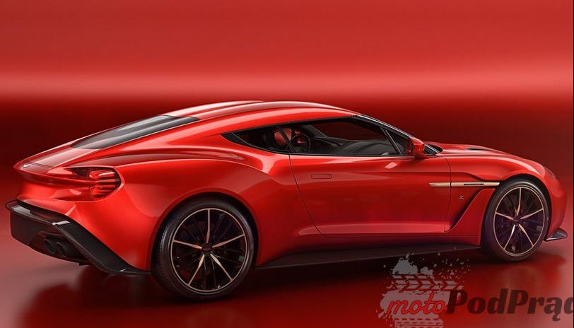 Aston Martin Vanquish Zagato Premiery na Concorso dEleganza Villa dEste