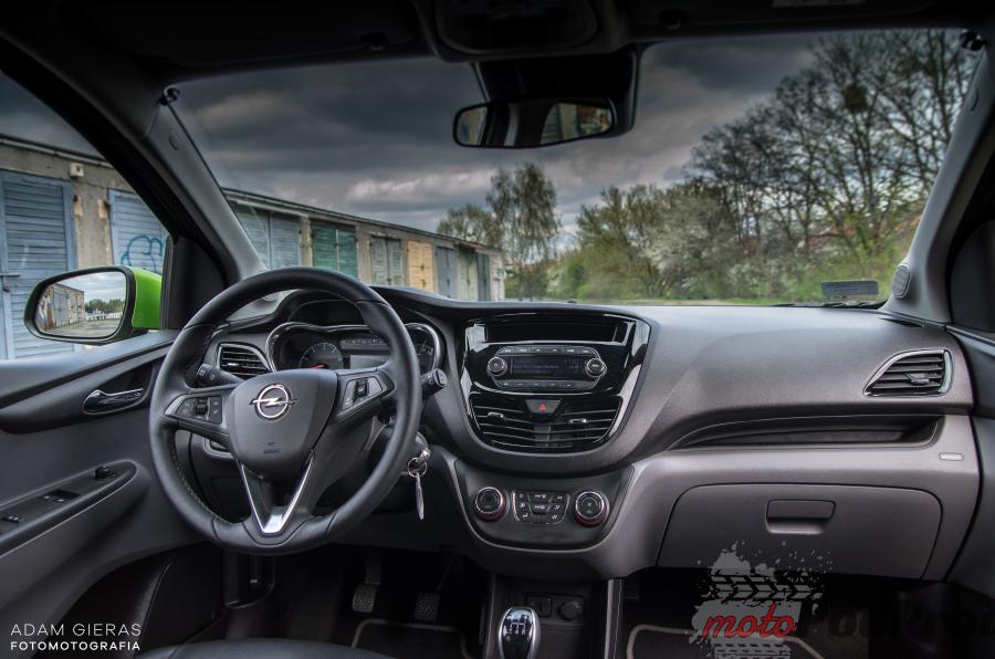 Opel Karl 13 Test: Opel Karl 1.2 75 KM Cosmo   wiecznie młody syn Adama