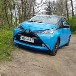 Toyota Aygo 54 150x150 Test: Toyota Aygo   designerska puszka