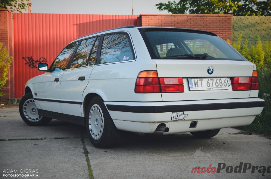bmw e34 1995 6 Znalezione: BMW e34 518i kombi   wielki come back!