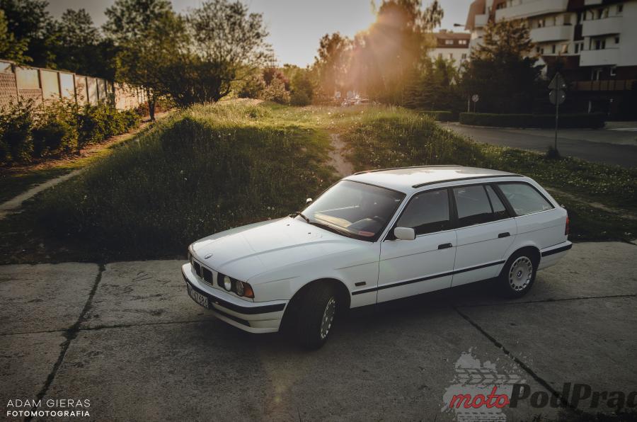 bmw e34 1995 7 Znalezione: BMW e34 518i kombi   wielki come back!