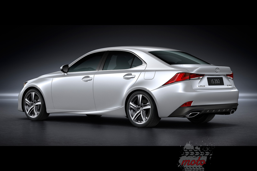 lexus is facelifting 900 Lexus IS po liftingu