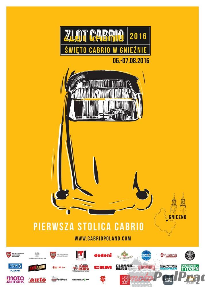 plakat Cabrio Poland 2016 Zapisz się na kartach Księgi Rekordów Guinnessa z Cabrio Poland