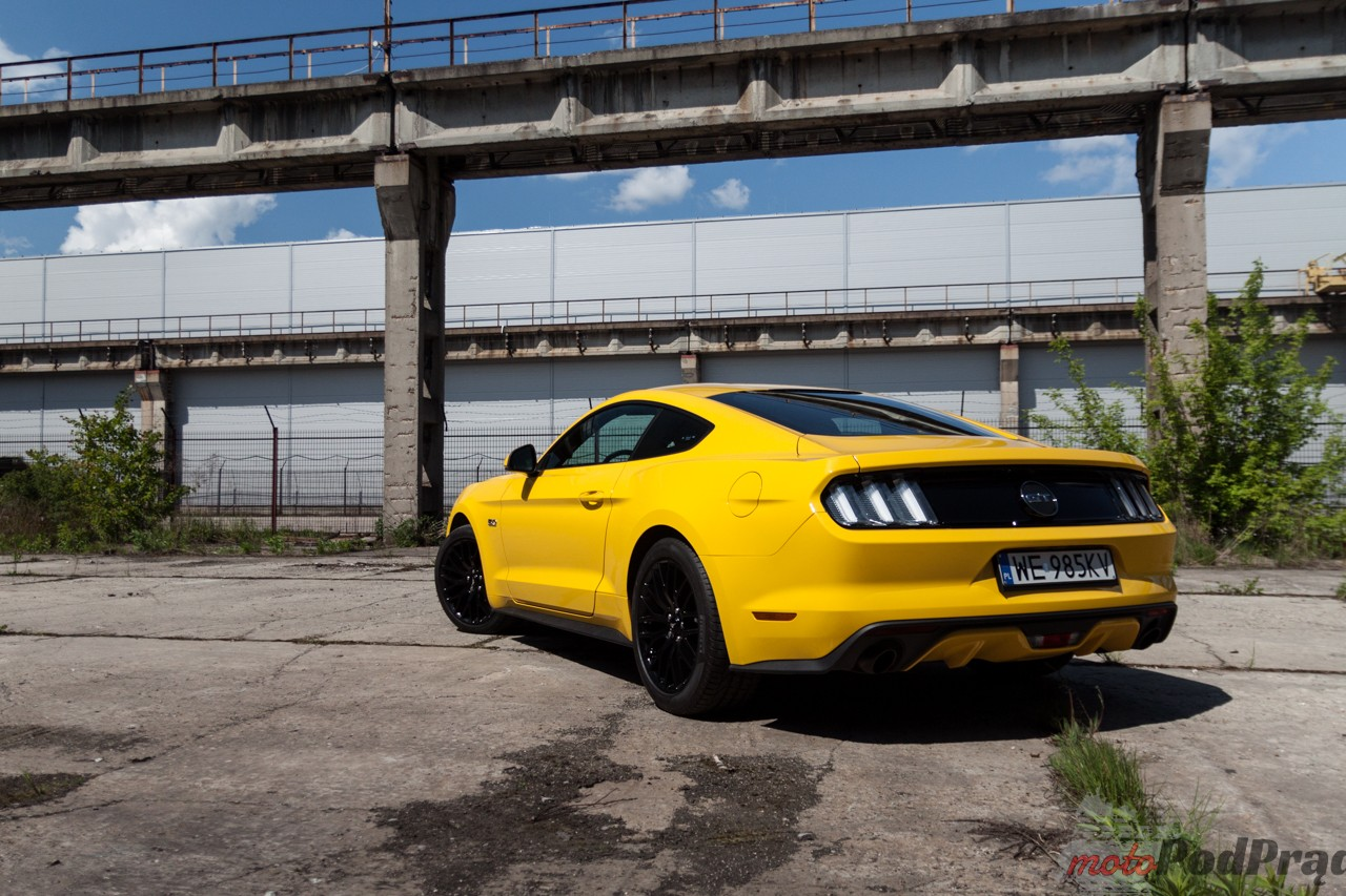 Ford Mustang GT 10 Test: Ford Mustang GT Fastback   bliżej marzeń