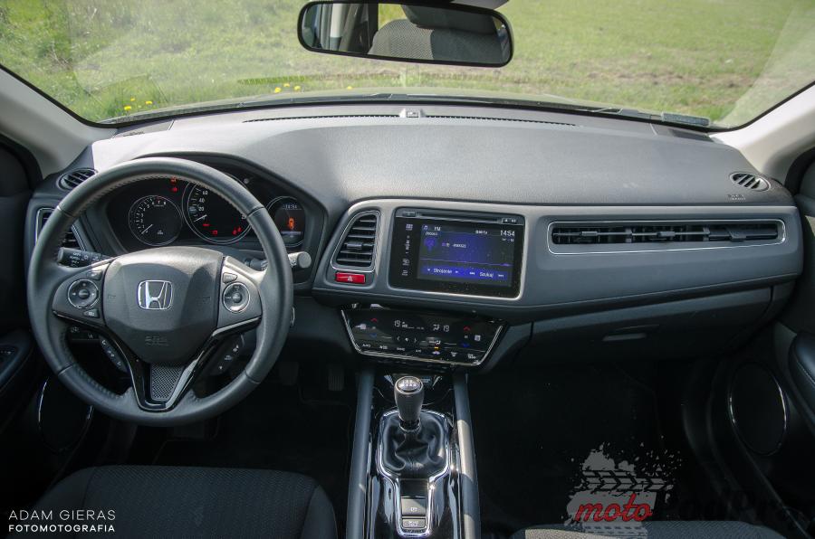 Honda HRV 17 Test: Honda HR V 1.5 i VTEC Elegance   crossovery nie muszą być takie złe