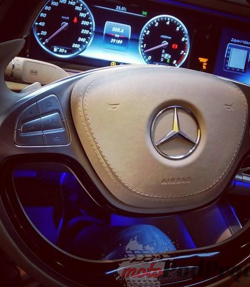 Mercedes S600 Maybach 8 5 minut z... Mercedesem S600 Maybach